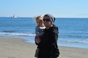 winter in Santa Cruz