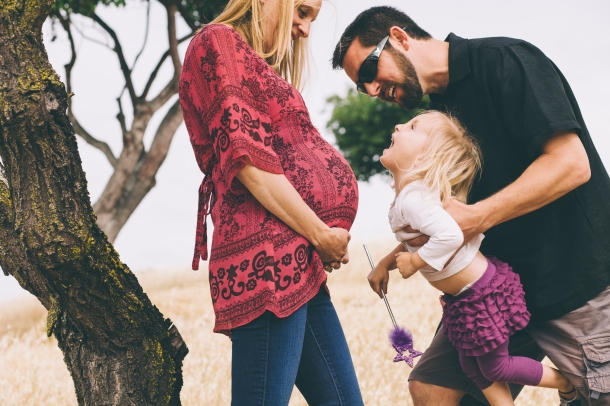 family maternity session