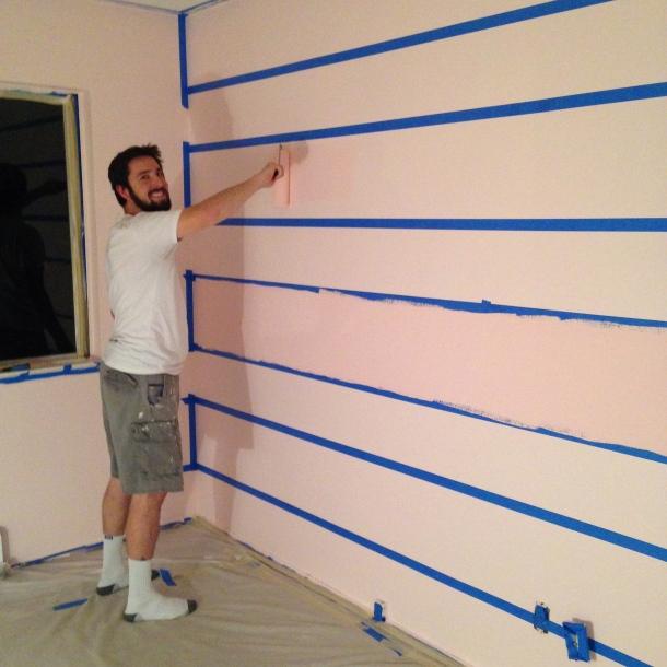 striped walls