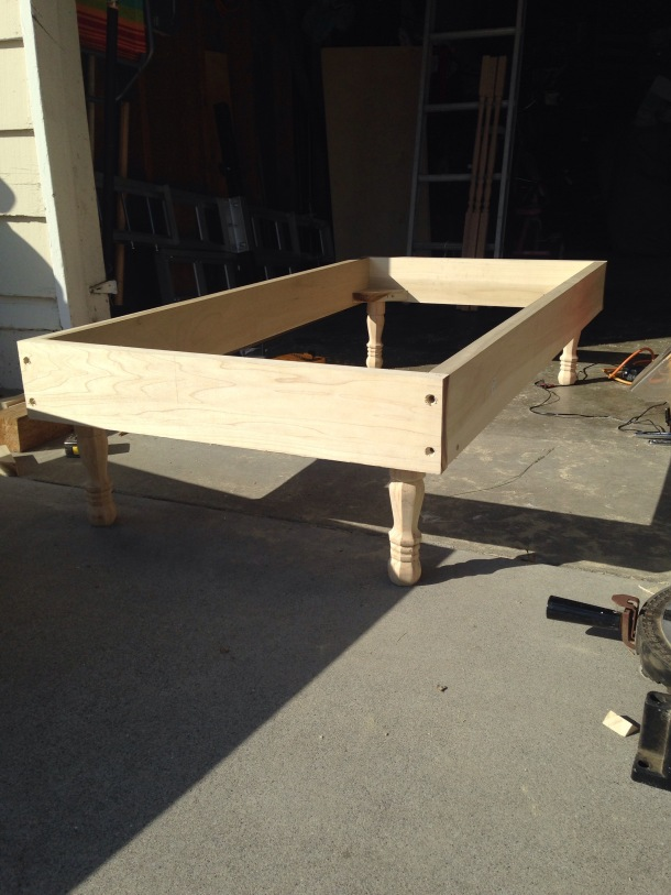 making a toddler bed