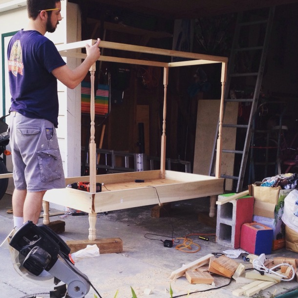 Toddler bed construction