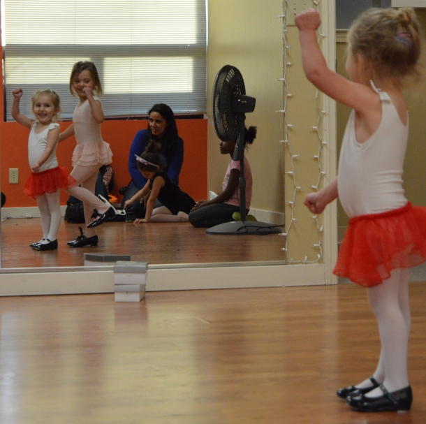 YMCA dance class