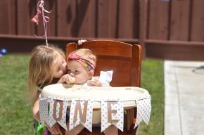A Doughnut Garden Party for Kenzie :: 1 YearsOld!