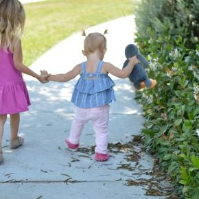 Kenzie's First Steps :: Featuring FreshlyPicked